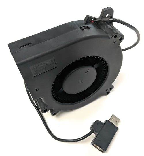Coolerguys 120mm (120x120x32) USB 5v Blower Fan - Coolerguys
