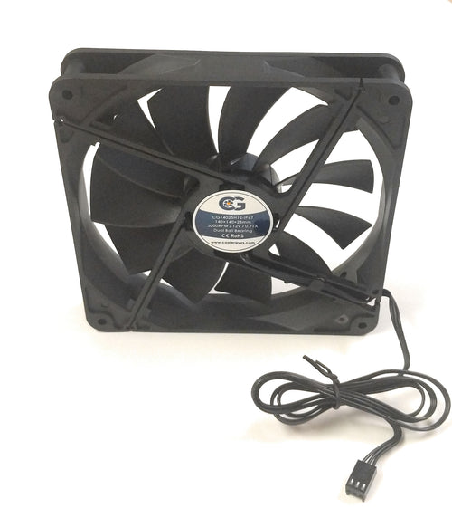 Coolerguys 140mm (140x140x25) High Airflow Waterproof IP67 Fan
