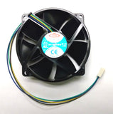 Dynatron Top Motor Circular 12V 4pin/4wire PWM Fan # DF129225BM-PWMG