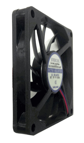 Evercool 70x10mm Low Speed 5 volt fan #EC7010LL05EA