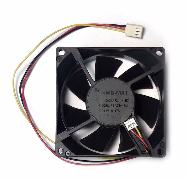 Panaflo/NMB  80x25mm med speed fan with RPM sensor #FBA08A12M1BX
