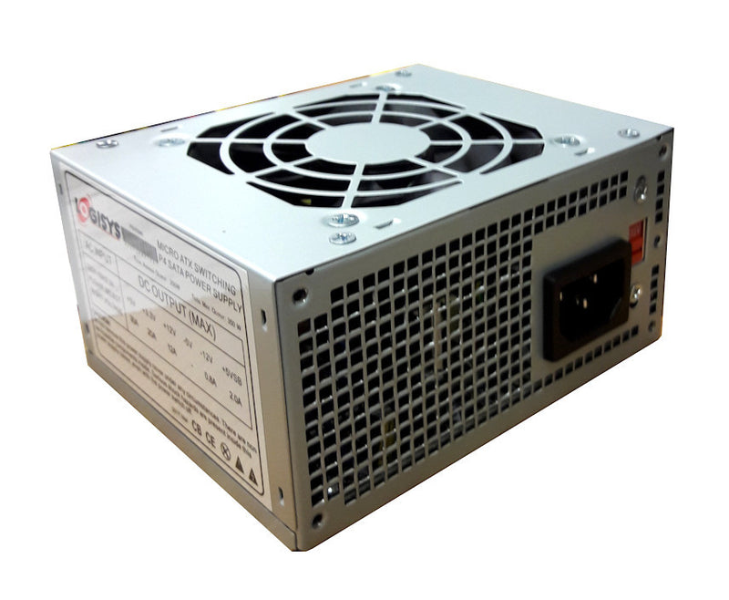 Logisys  MICRO ATX 350W POWER SUPPLY # PS350MA with 24 pin - Coolerguys