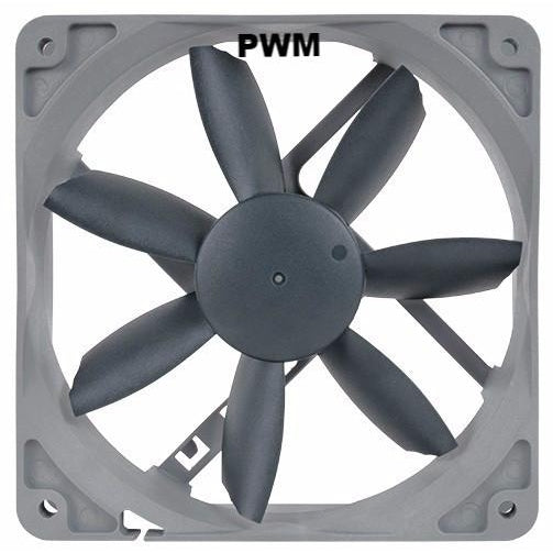 Noctua NF-S12B Redux 120x120x25mm 12 Volt PWM Fan NFS12BR12P - Coolerguys