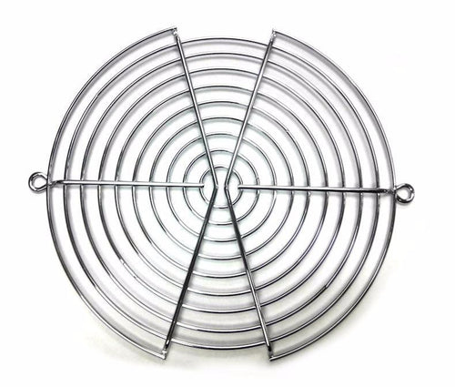 170X150mm Large Silver Fan Grill  #SGR-59