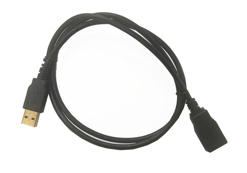 "36"" USB EXTENSION CABLE BLACK CG3USB - Coolerguys"