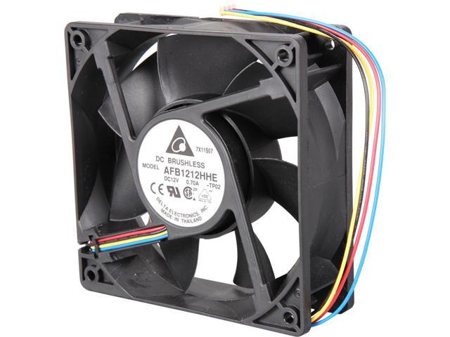 Delta 120x120x38mm AFB1212HHE-PWM Cooling Fan - Coolerguys