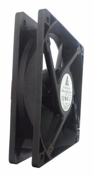 Delta 120x25mm High Speed fan with locked rotor sensor 3 wire/3 pin connector #AFB1212H-R00