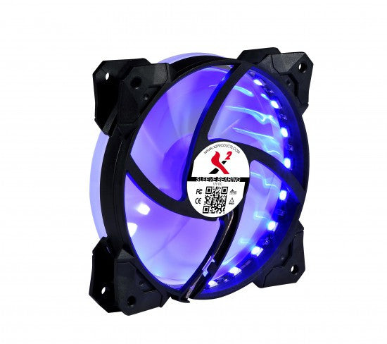 X2 MAGIC LANTERN 120mm (3 Pack)  Remote LED Fans -12025S1L6-RGB-LED