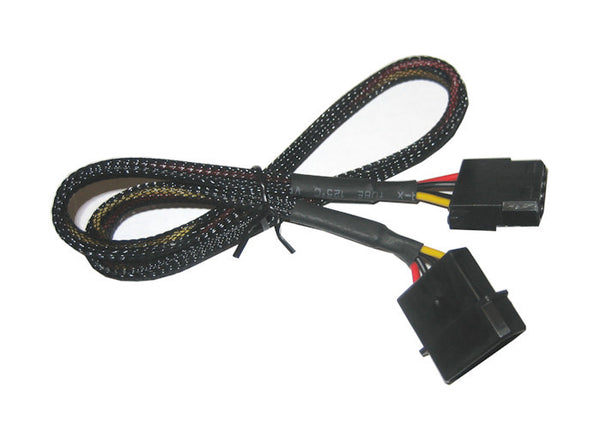4 Pin Molex Sleeved Fan Cable extension 12 thru 72inches