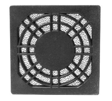 60mm (3) Part Fan Filter Grill - Coolerguys