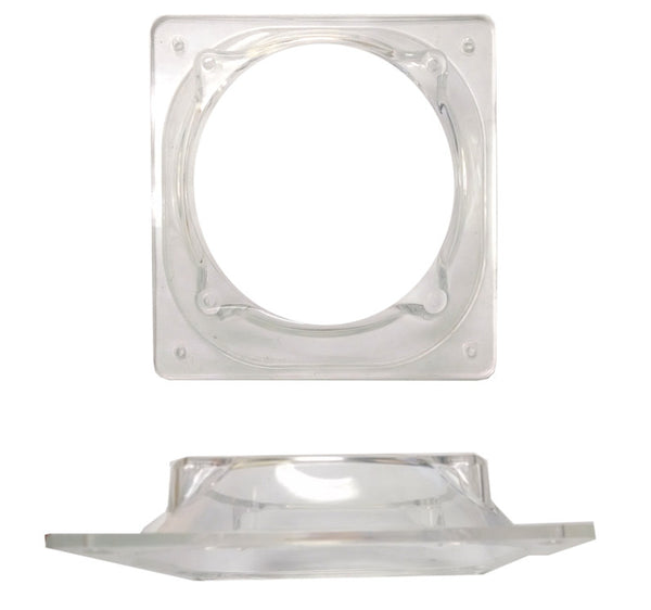 80-120mm Fan Adapter Translucent Plastic Clear