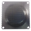 80mm Steel Mesh Filter / Grill Black for Multimedia Cabinets - Coolerguys