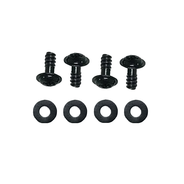 Coolerguys Black Fan Screws With Anti Vibration Washers 4