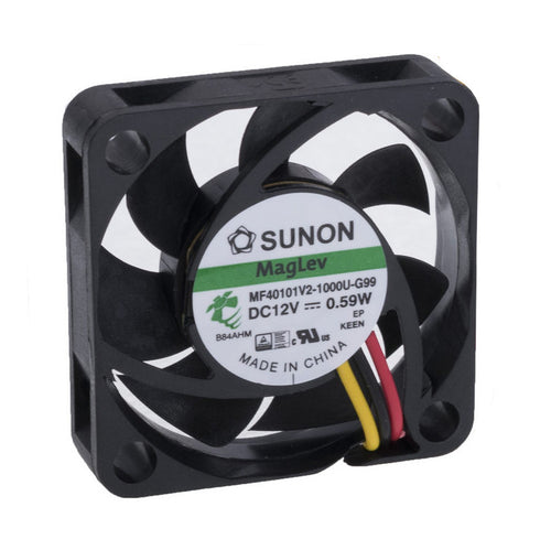 Sunon 40x40x10mm 3 Pin 12V Fan MF40101V2-1000U-G99 - Coolerguys
