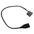 "12"" Female USB to Female 5v Molex - Coolerguys"