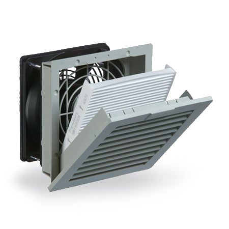 "Pfannenberg PF 22000 4.0 6"" Nema 12 Filter Fan 11622154055 - Coolerguys"