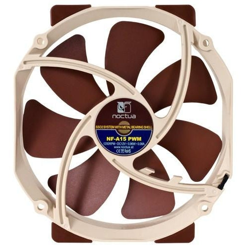 Noctua 150mm Premium Fan w/ 140mm mounting frame NF-A15