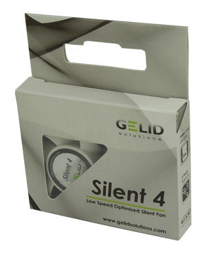 Gelid Silent 4 Case Fan 40x40x10mm Fan with 3 pin connector #FN-SX04-42