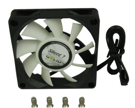 Gelid Silent 7 Case Fan 70x70x15mm Fan with 3 Pin Connector-FN-SX07-22