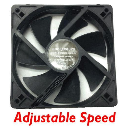 Coolerguys 120mm 4 speed adjustable Fan # CG12025(4)12B2-3Y