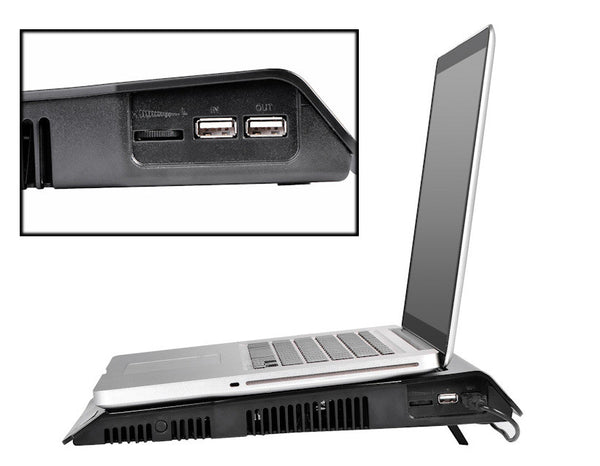 Spire ODYSSEY 342 Laptop / Notebook cooler 2 USB 2.0 Ports, Silent, 12 up to 17-Inch Compatibility