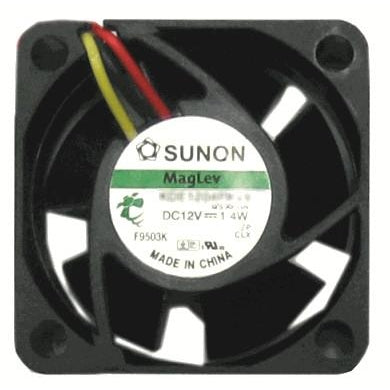 Sunon 40x40x20mm 3 Pin Fan Replacement Fan for Cisco Routers & Switches 891 1811 1803 2811 7301 2950 - Coolerguys