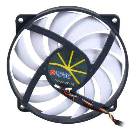 Titan Extreme 95X15mm 12 volt Z-Axis Bearing Fan,4 pin  PWM #TFD-9515M12ZP