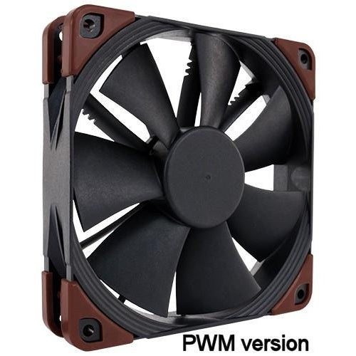 Noctua NF-F12 industrialPPC-2000 PWM 120x25mm 4 pin PWM 2000 rpm max IP52 rated - Coolerguys