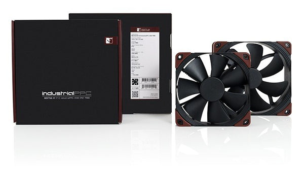 Noctua NF-F12 industrialPPC-2000  120x25mm 3 pin fan 2000 rpm IP52 rated