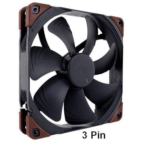 Noctua NF A14 Industrial PPC 140x 25mm 2000 RPM 3 Pin Fan IP52 rated P/N   #NF-A14 IPPC-2000