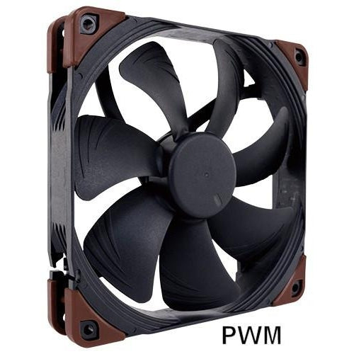 Noctua NF A14 Industrial PPC 140x140x25mm 2000 RPM PWM Fan IP67 Rated - Coolerguys