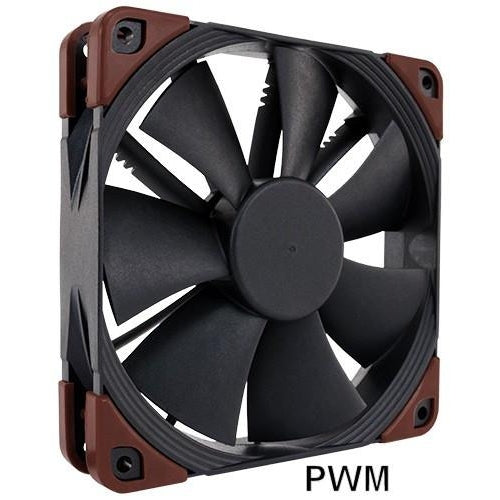 Noctua NF F12 Industrial PPC 120x120x25mm 12v PWM Fan IP52 Rated - Coolerguys