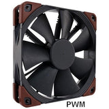 Noctua NF F12 Industrial PPC 120x 25mm 3000 RPM PWM Fan IP52 rated