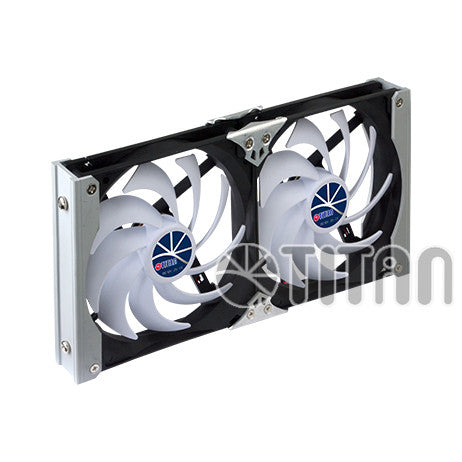 Titan 120 mm Dual Multi-Purpose Rack Fans -#TTC-SC09TZ/B
