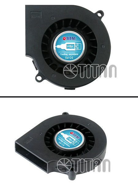 Titan DC5V USB 75X15mm Blower Fan with USB connector # TFD-B7515LL05B