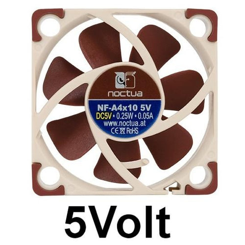 Noctua 40x40x10mm 5 Volt Fan NF-A4x10 - Coolerguys