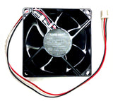 NMB 80x25mm low speed 12 volt fan # 3110GL-B4W-B19  (Special Purchase)