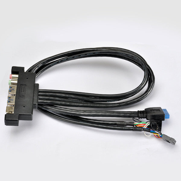 Lian Li USB3.0 (20pin-plug) Multi-Media I/O Ports Cable Kit PW-IE20AH51T0