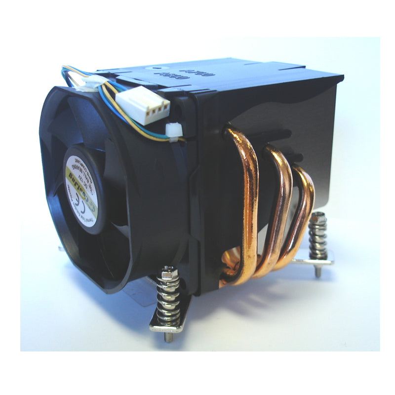 CoolJag ITO-DQ CPU Cooler with 70x70x25mm 12V Ball Bearing PWM Fan - Coolerguys
