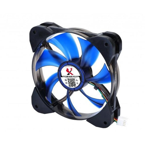 X2 Air Force 120x120x25mm LED Fan X212025N7L4-B-PWM - Coolerguys
