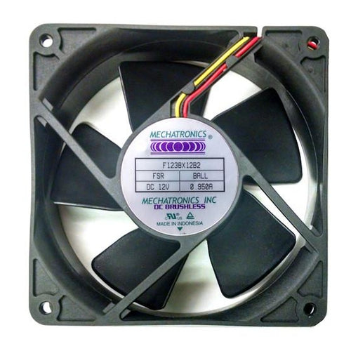 Mechatronics 120 x 38mm high speed 12 volt Fan with Locked Rotor Alarm # F1238X12B2-FSR