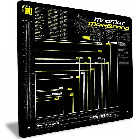 "ModRight Mainboard Anti-Static Mod-Mat Work and Assembly Surface (Over 23"" x 23"" in Size) - Coolerguys"