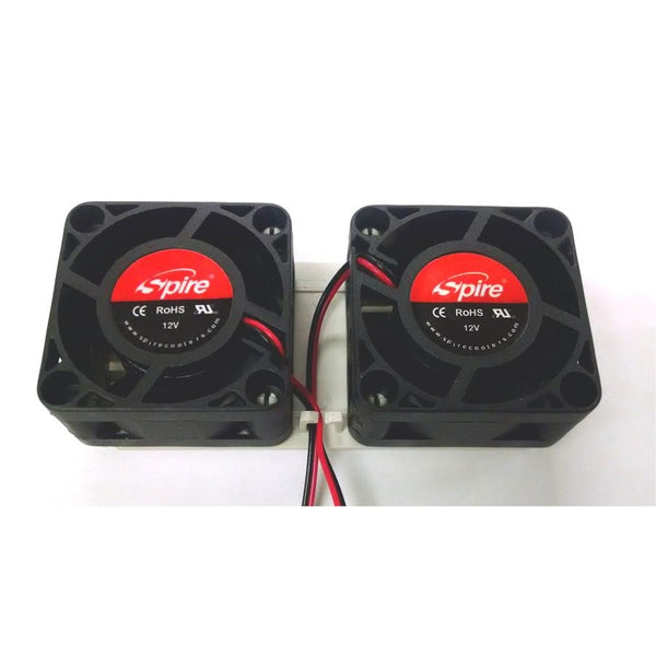 Spire Dual 40x20mm fans on a single 4 pin molex