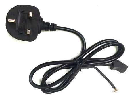 AC power Cord for 230 volt fans with UK plug