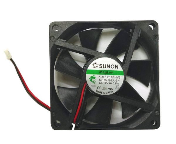 Sunon 70x70x15mm 2Pin/2 Wire Vapo Bearing 12 volt Fan #KDE1207PHV3 Low Speed