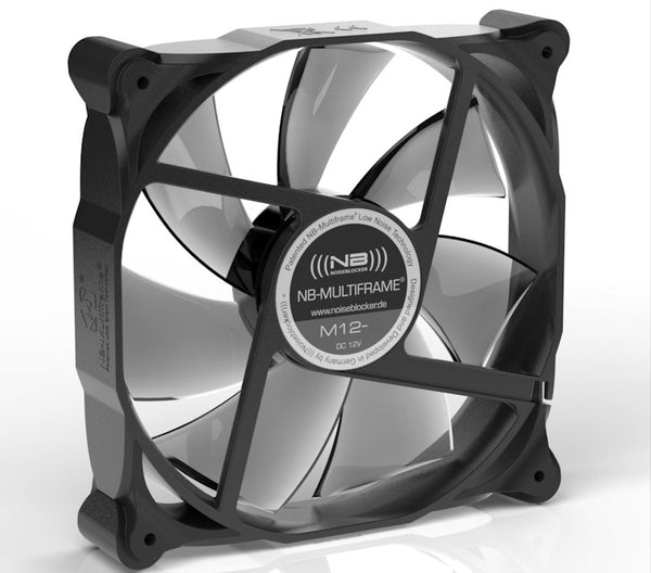BLACKNOISE Noise Blocker 120x25mm NB-Multiframe 12V PWM fan # M12-P