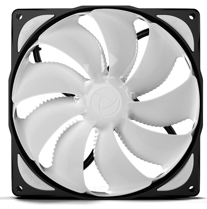 Black Noise Blocker 140x140x29mm Bionic Loop Low Speed Fan