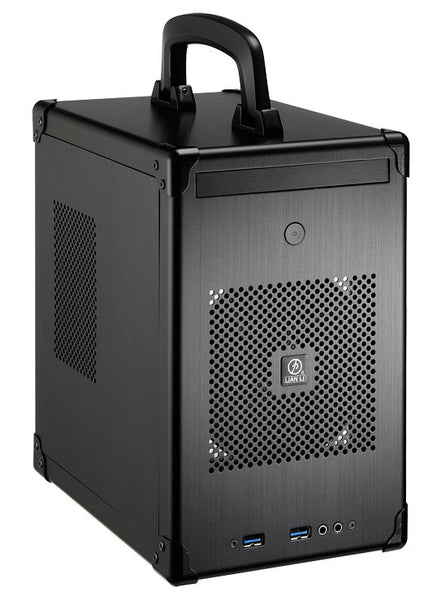Lian Li PC-TU100B  Black Mini Briefcase Style Case