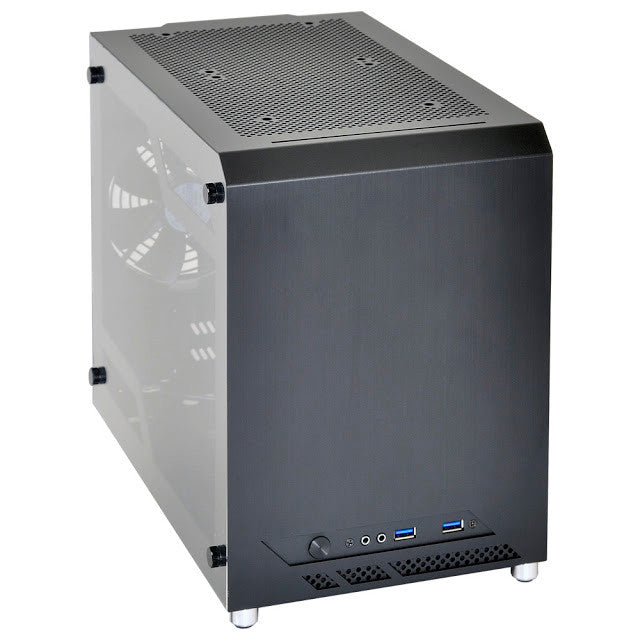 Lian Li PC-Q10WX mini case w/ side window.