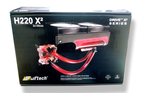 Swiftech H220 X2 water cooling kit  (All-In-One kits) Standard